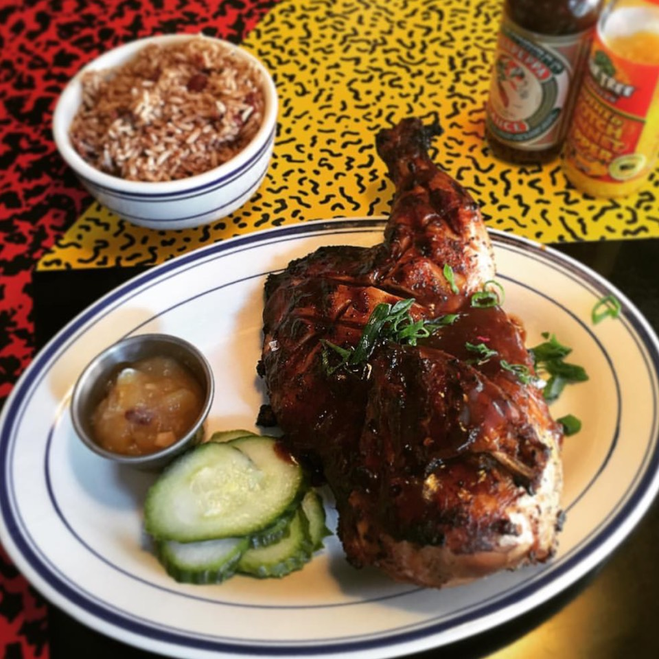 Jerk Chicken from Miss Lily's 7A on #foodmento http://foodmento.com/dish/36476