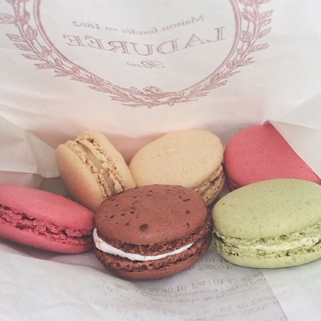 Assortment Of Macarons at Ladurée on #foodmento http://foodmento.com/place/3497