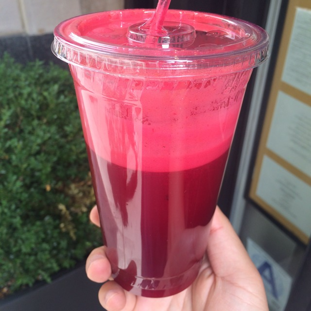 Inner Beauty Juice (Beet, Pineapple, Carrot, Cilantro) at Be Juice on #foodmento http://foodmento.com/place/3523