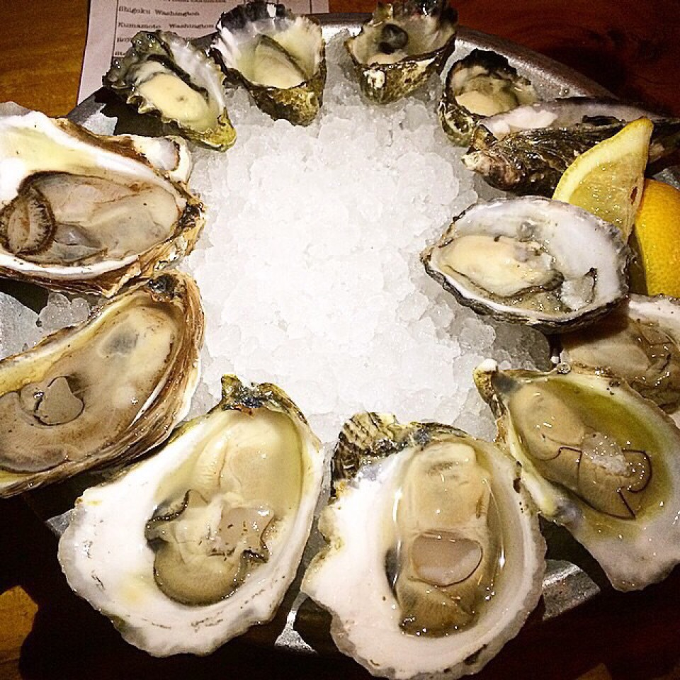 Raw Oysters at Upstate Craft Beer and Oyster Bar on #foodmento http://foodmento.com/place/3565