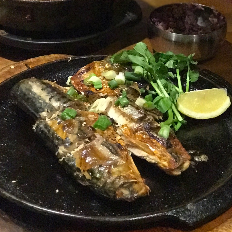Godunguh Gui (Grilled Mackerel)   Soup at The Kunjip on #foodmento http://foodmento.com/place/3594
