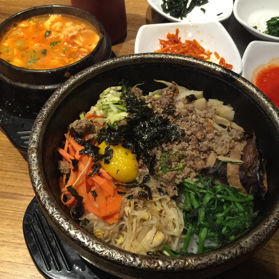 Gobdol Bibimbob, Soon Doo Boo (Lunch Special) at The Kunjip on #foodmento http://foodmento.com/place/3594