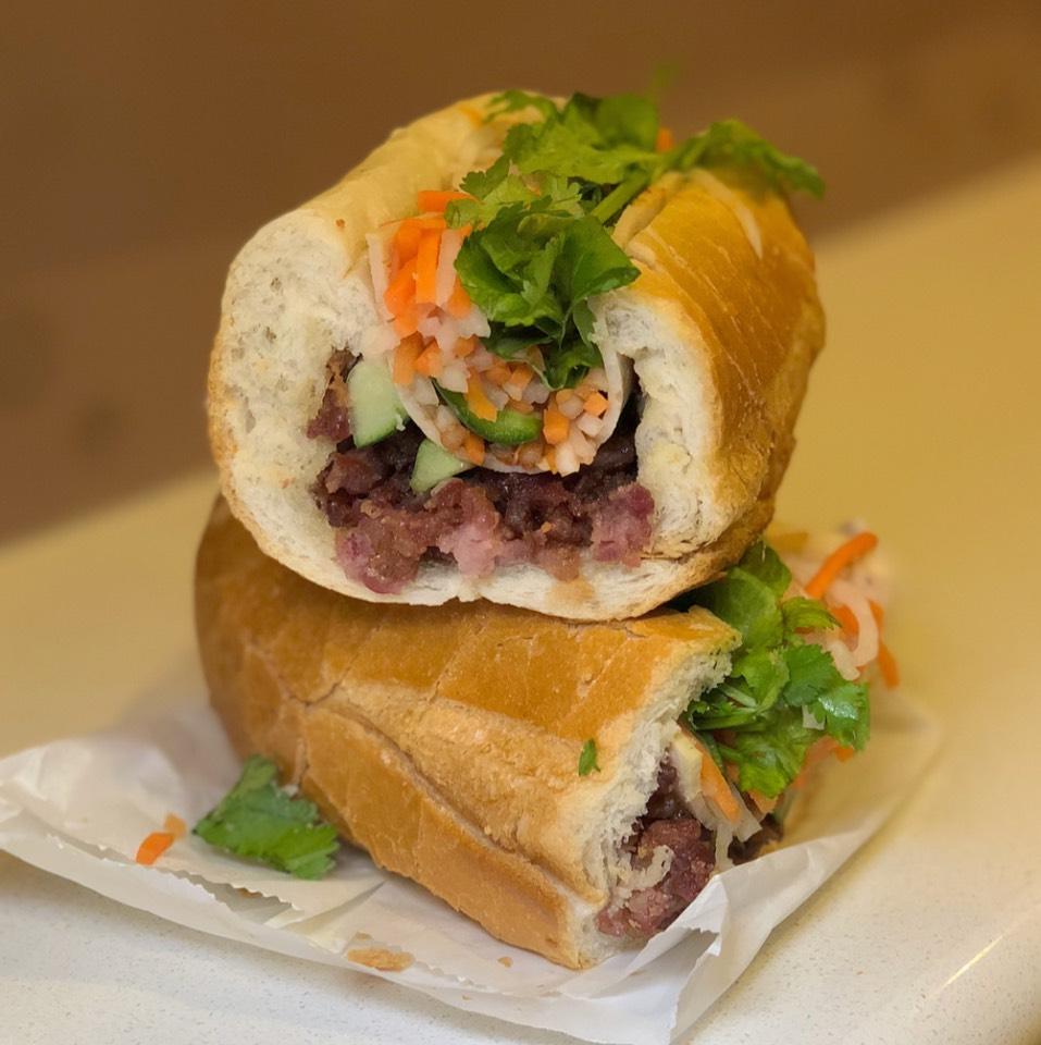 Banh Mi Saigon (BBQ Pork) at Banh Mi Saigon Bakery on #foodmento http://foodmento.com/place/3597