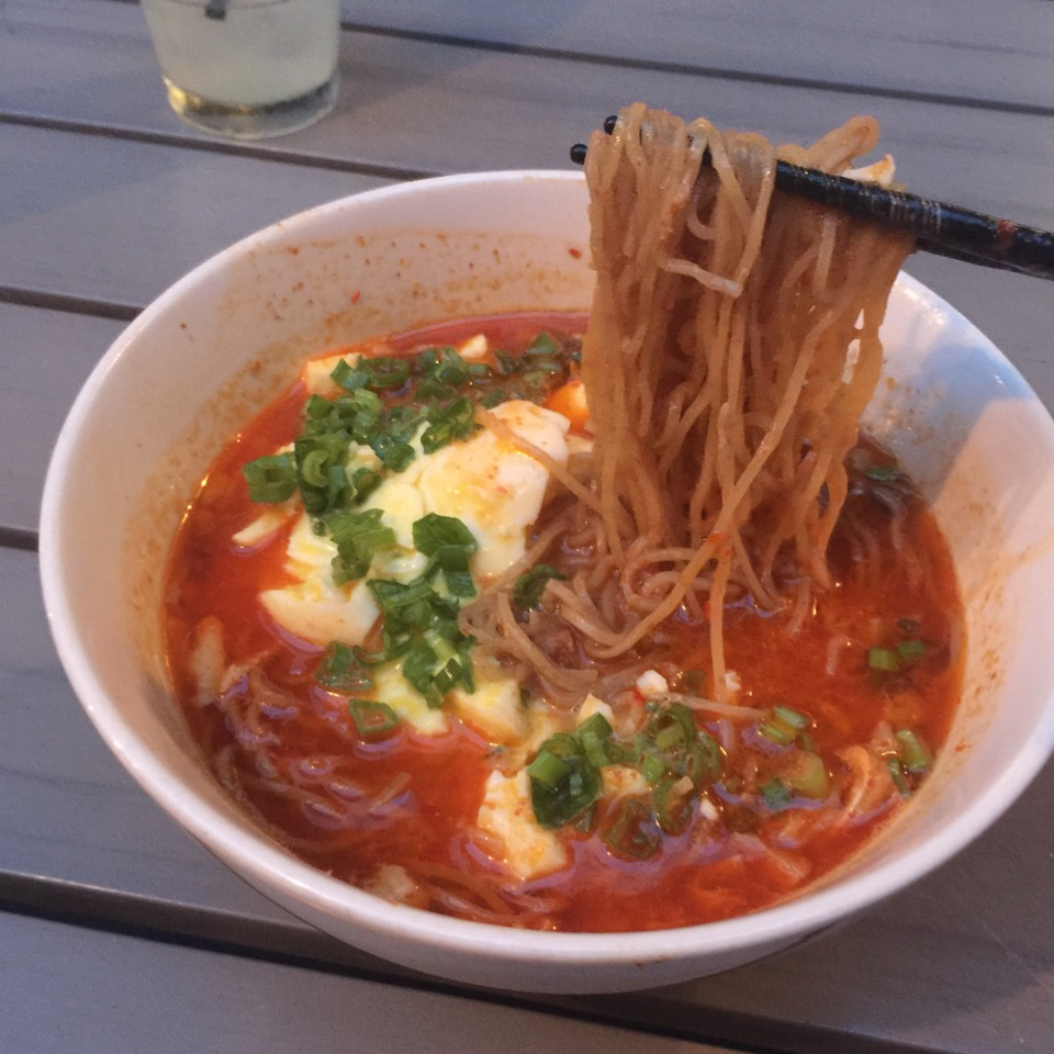 Spicy Red Chili Ramen at Ivan Ramen on #foodmento http://foodmento.com/place/3674