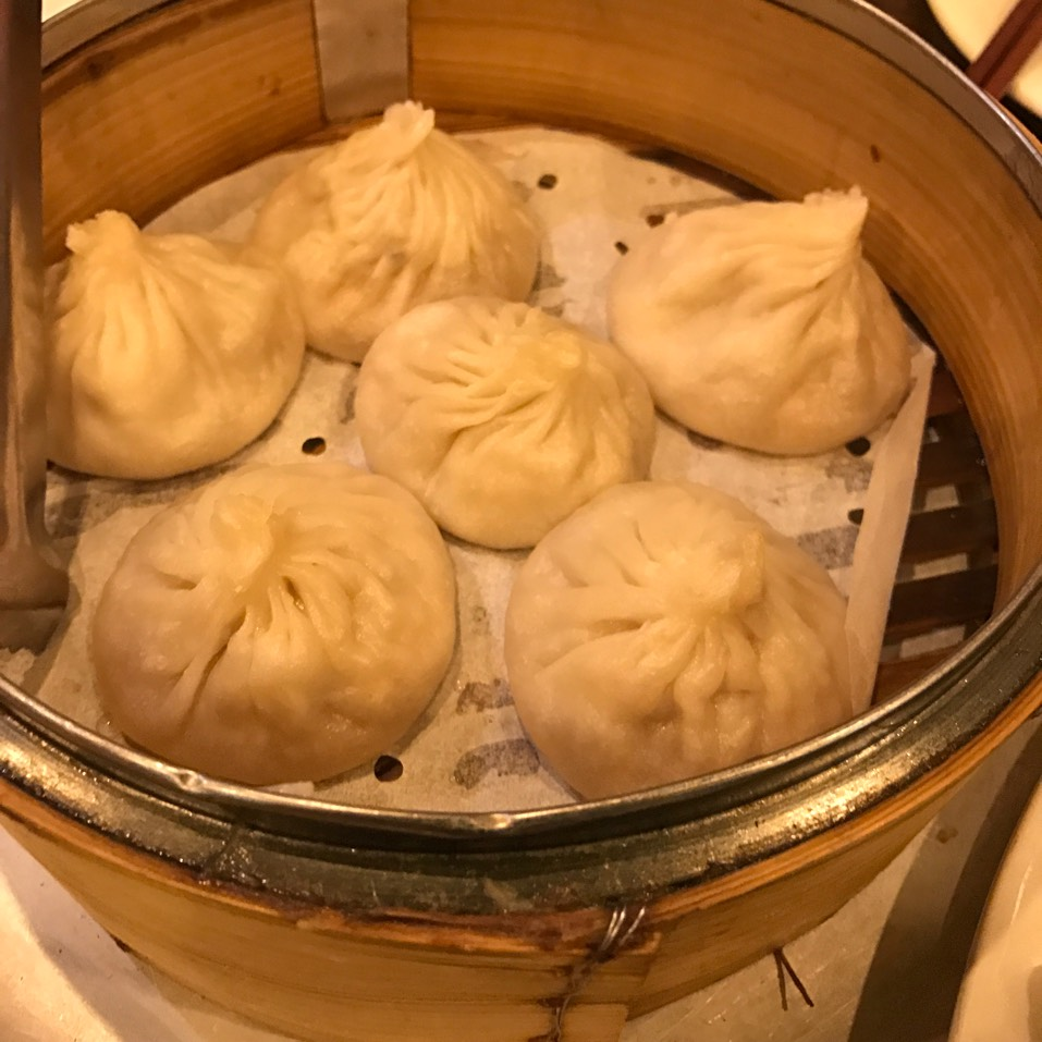 Pork Soup Dumplings (Xiao Long Bao) at Shanghai Asian Manor on #foodmento http://foodmento.com/place/3809