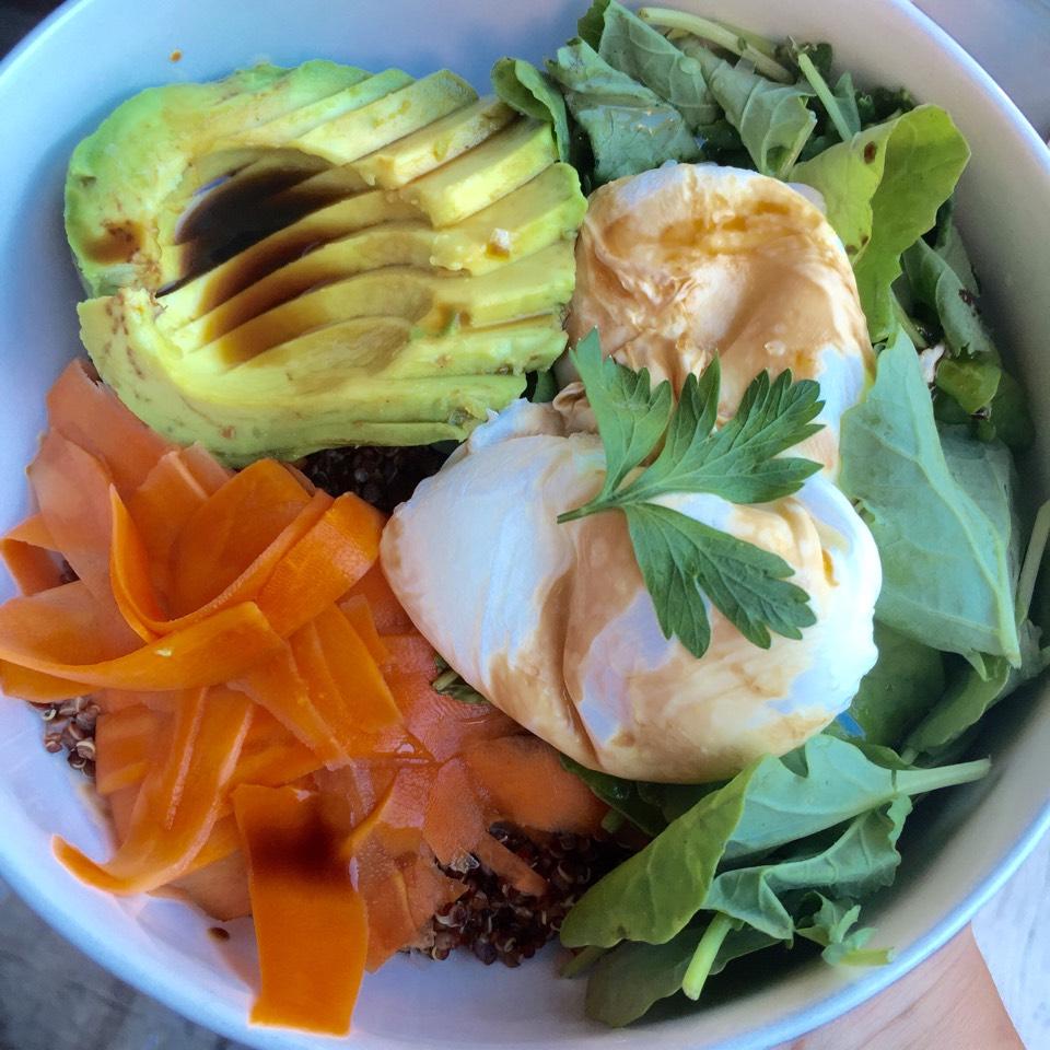 Spandex (Poached Egg, Miso Quinoa, Avocado...) at Egg Shop on #foodmento http://foodmento.com/place/3861