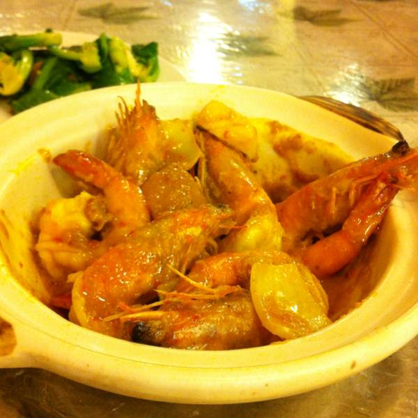 Nyonya Prawn at Different Tastes Cafe & Restaurant (CLOSED) on #foodmento http://foodmento.com/place/3
