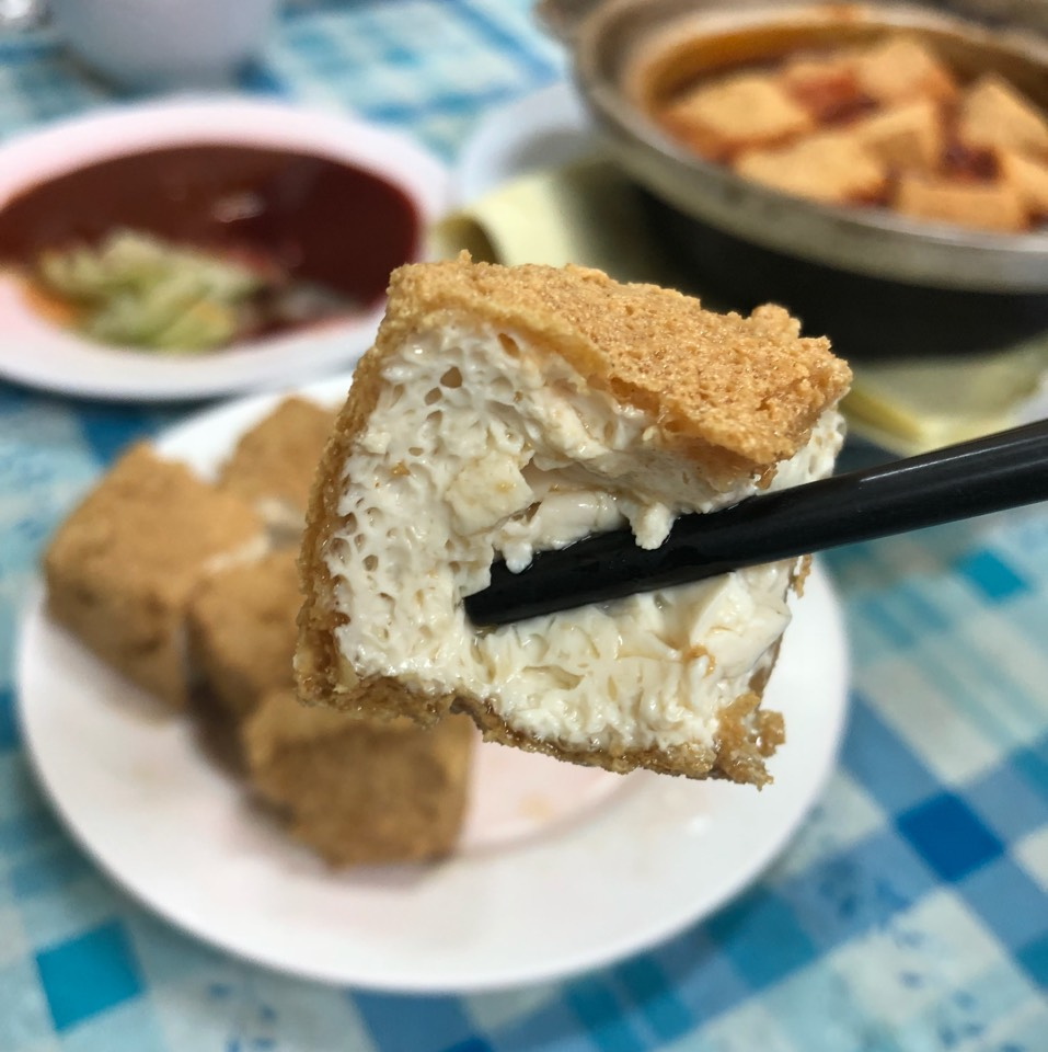 Crispy Fermented Bean Curd (Smelly Tofu) at Mini Star Fermented Beancurd on #foodmento http://foodmento.com/place/401