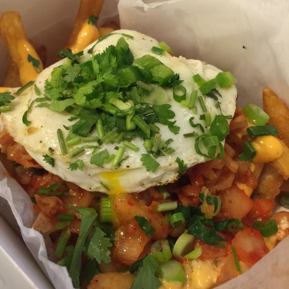 Kimchi Fries - Joju Specialty Fries on #foodmento http://foodmento.com/dish/16992