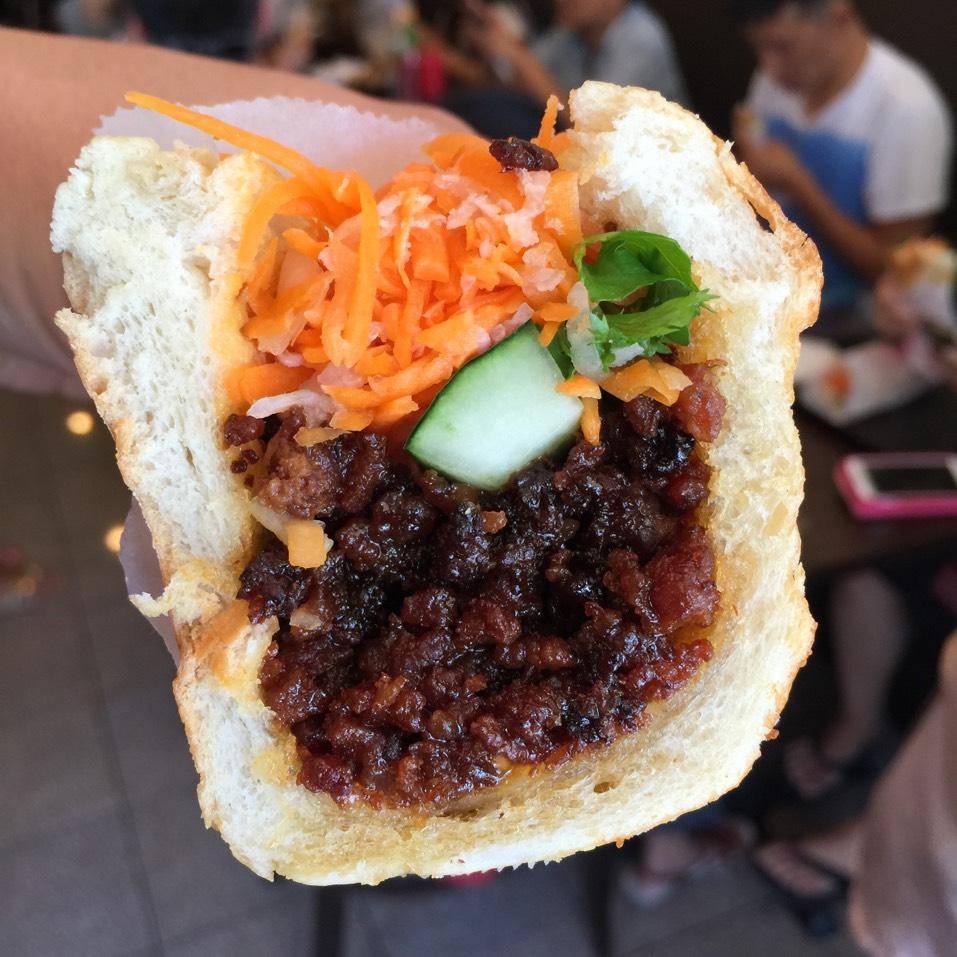 Caramel Pork Banh Mi Sandwich at JoJu on #foodmento http://foodmento.com/place/4045