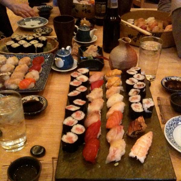Assortment of Sushi & Maki Rolls at Sushi Yasuda on #foodmento http://foodmento.com/place/406