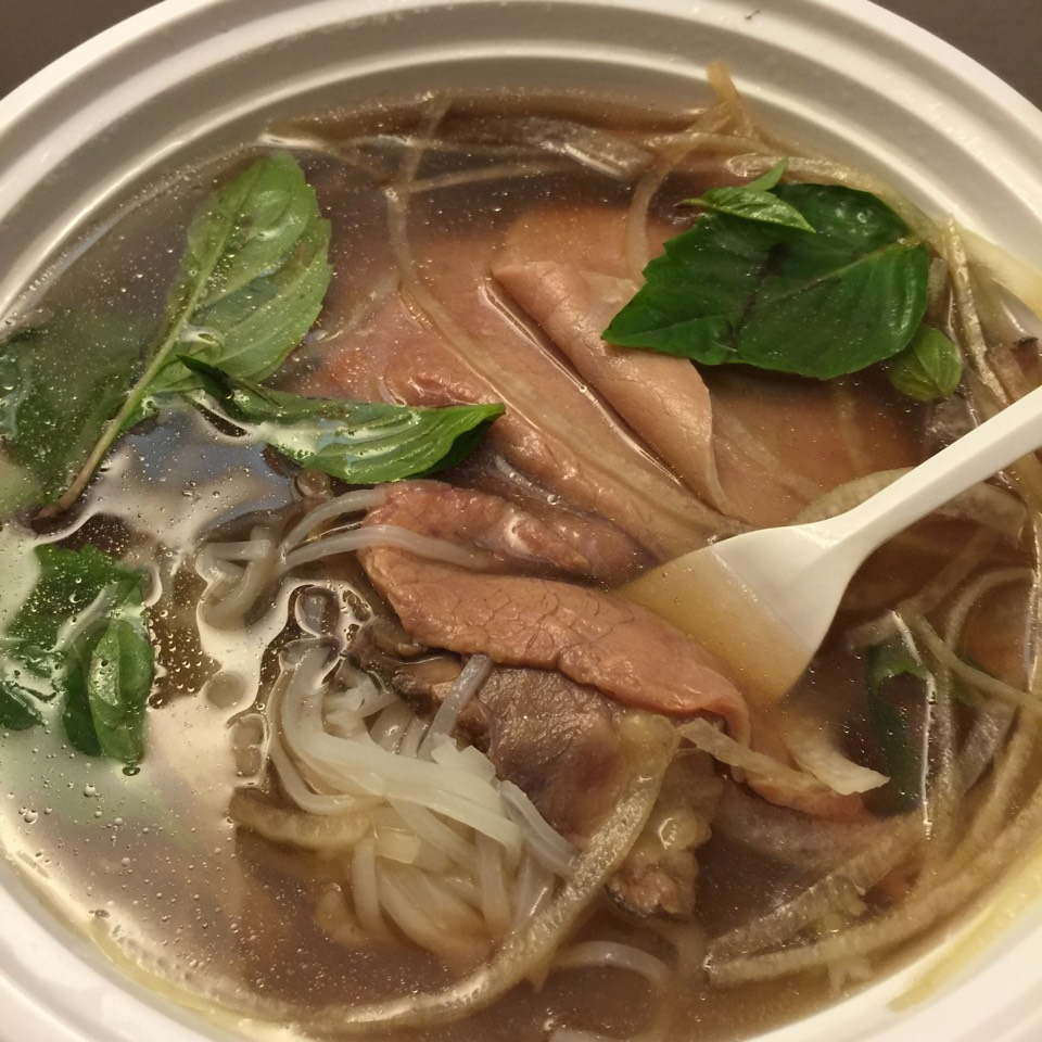 Beef Pho Noodle Soup (Raw beef eye round & brisket) at Saiguette on #foodmento http://foodmento.com/place/4147