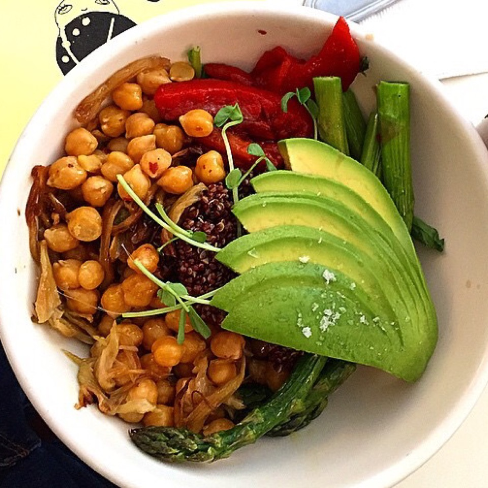 Quinoa Bowl (Avocado +$2.50) at Dimes on #foodmento http://foodmento.com/place/4157