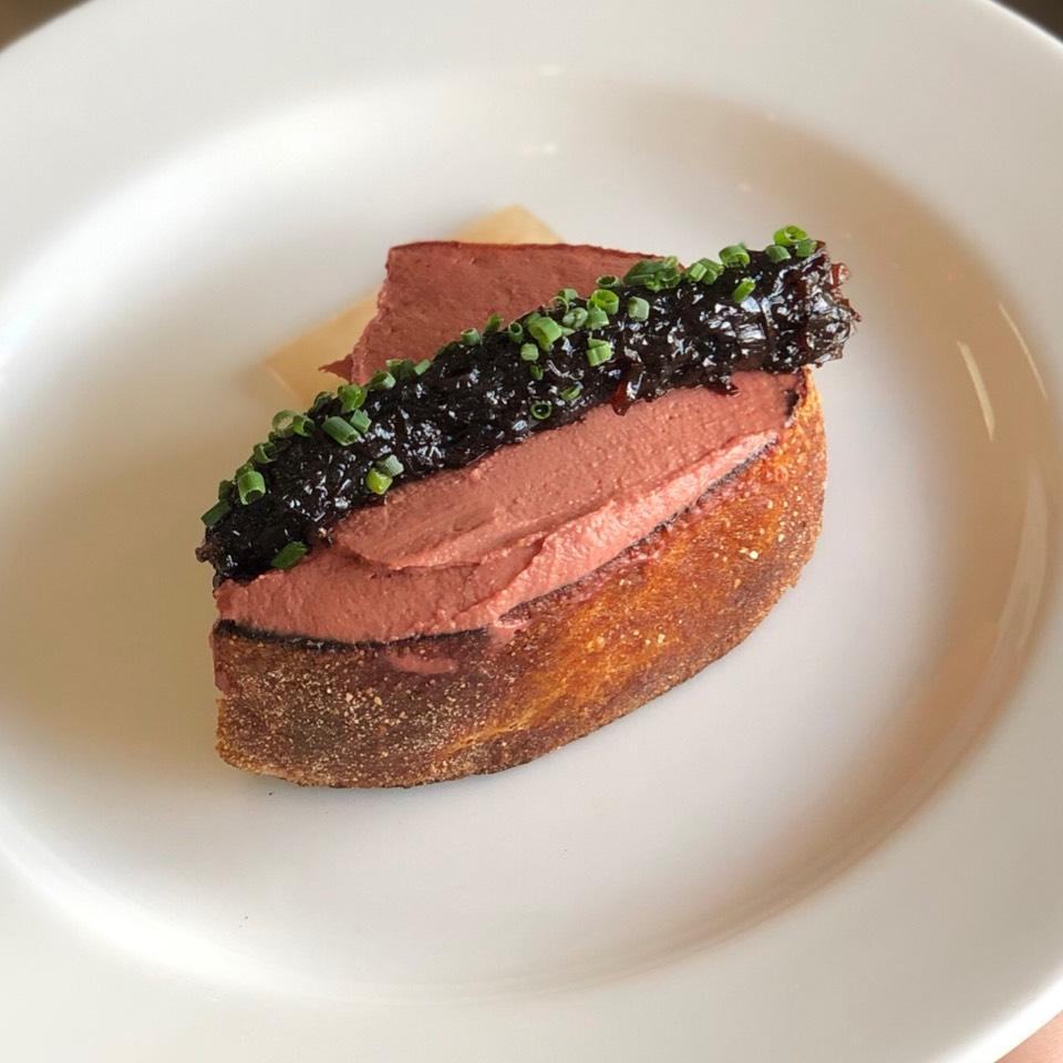 Chicken Liver Toast on #foodmento http://foodmento.com/dish/17396