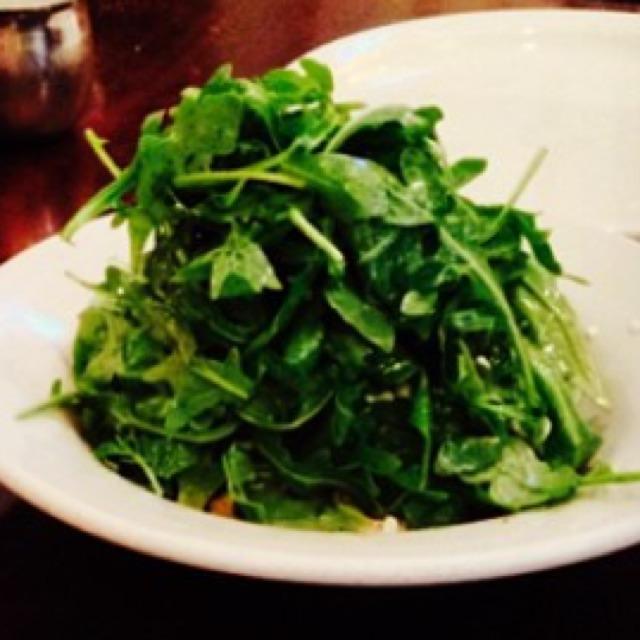 Baby Arugula Mimosa (Salad) at Il Bambino on #foodmento http://foodmento.com/place/421