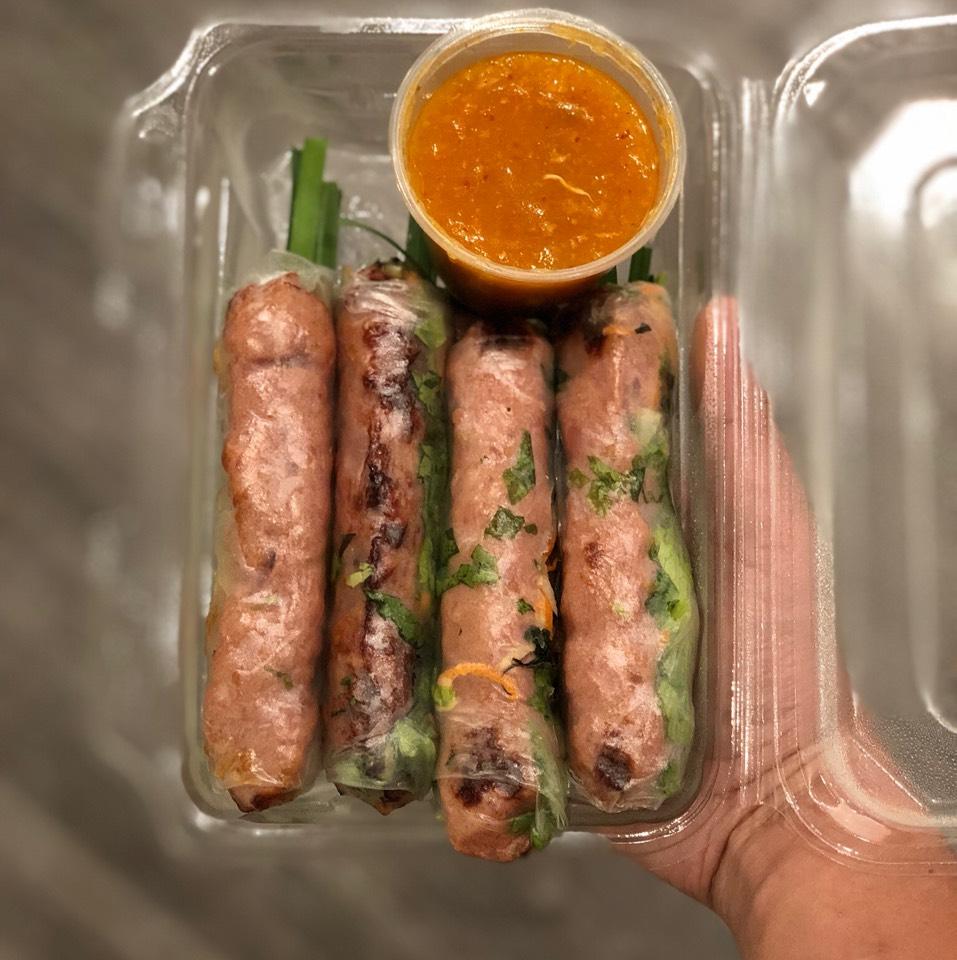 Nem Nuong Cuon - Pork Summer Rolls at Brodard Restaurant on #foodmento http://foodmento.com/place/4389