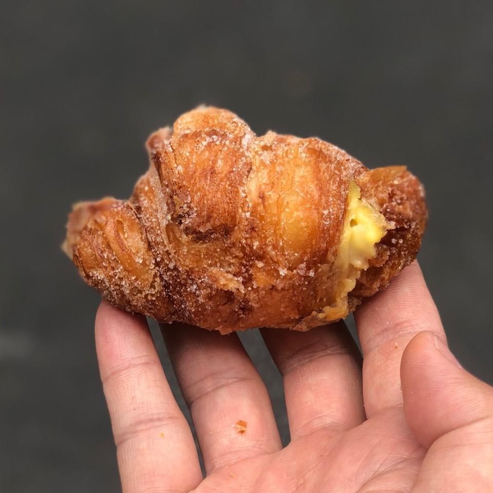 Cornetti (Pastry Cream Filled Croissant Twist) at République (Republique) on #foodmento http://foodmento.com/place/4460