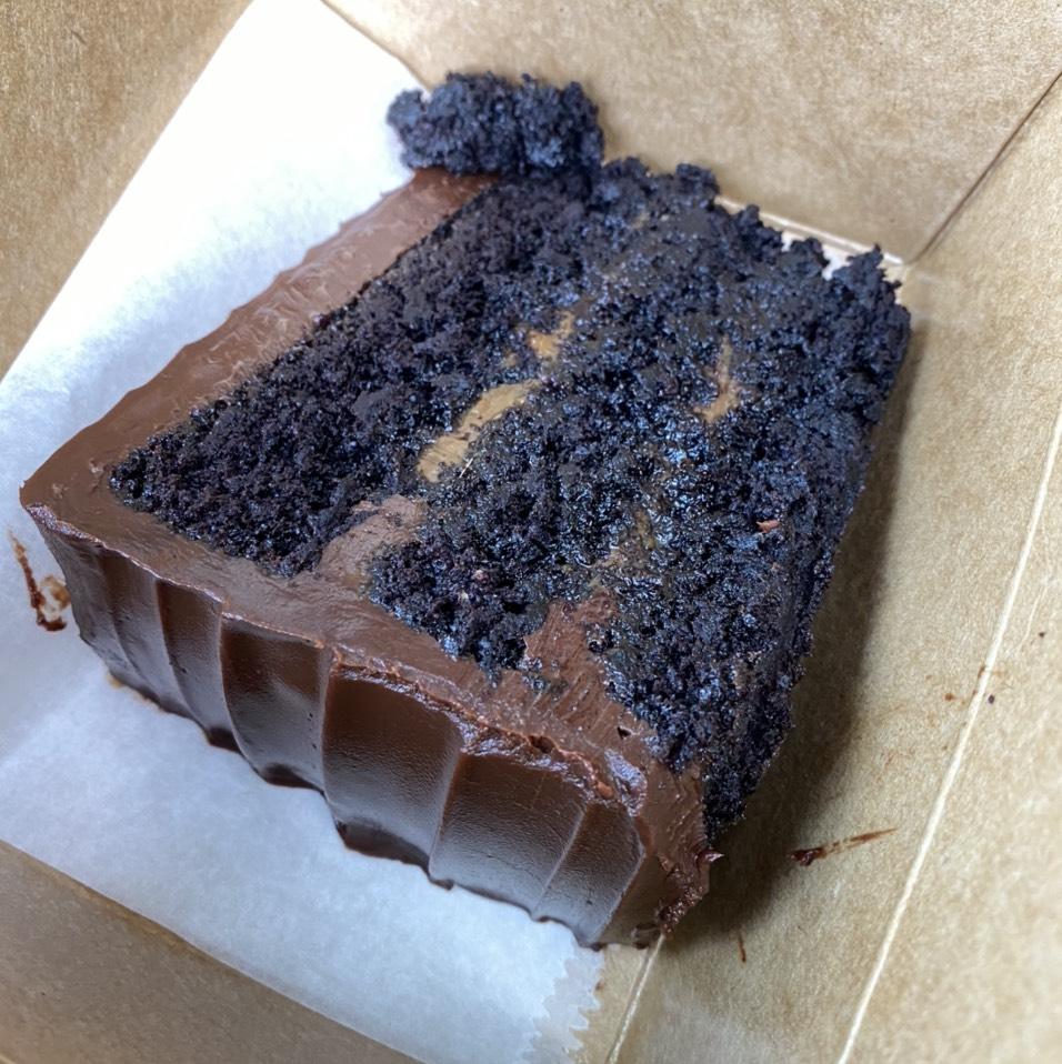 Salted Caramel Chocolate Cake at République (Republique) on #foodmento http://foodmento.com/place/4460