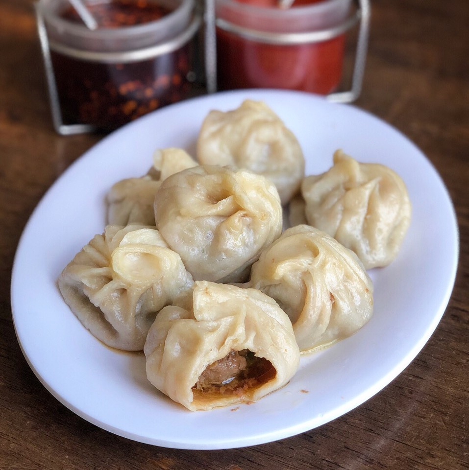 Beef Momo (Dumplings) at Phayul on #foodmento http://foodmento.com/place/4826