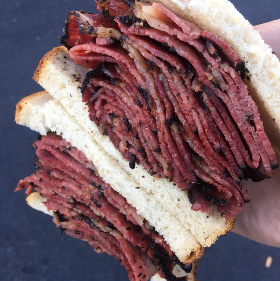 Pastrami Sandwich at Ben's Best Kosher Delicatessen on #foodmento http://foodmento.com/place/4886