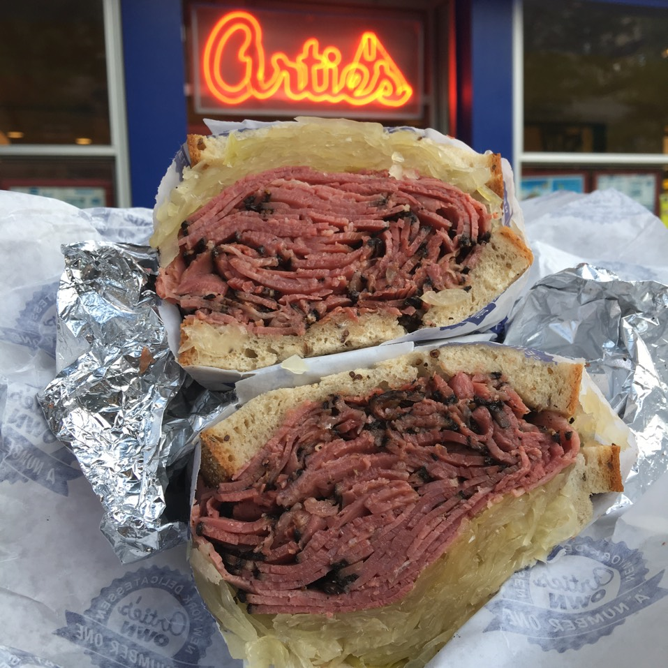 Pastrami Sandwich at Artie's New York Delicatessen on #foodmento http://foodmento.com/place/4888