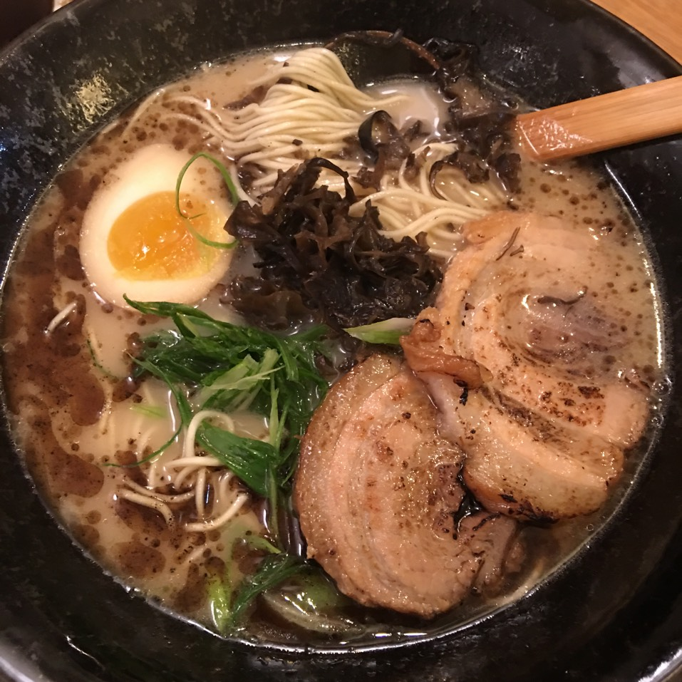 Shio Black Ramen at Ramen-Ya on #foodmento http://foodmento.com/place/4913