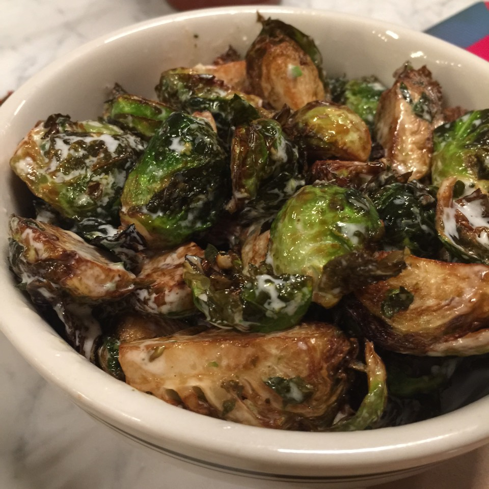 Brussels Sprouts at Greenpoint Fish & Lobster Co. on #foodmento http://foodmento.com/place/4959