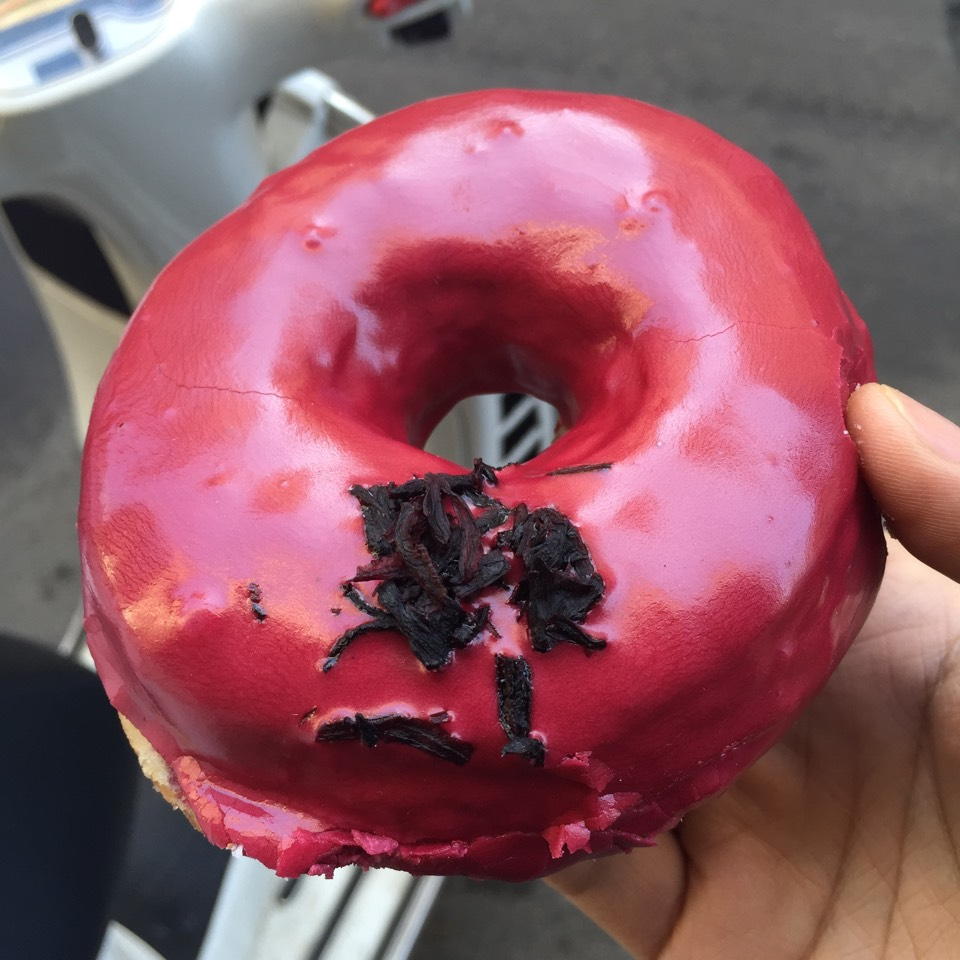 Hibiscus Doughnut at Dough on #foodmento http://foodmento.com/place/5061