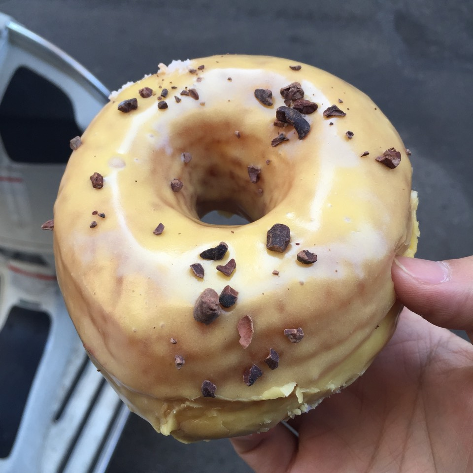 Passion Fruit Donut at Dough on #foodmento http://foodmento.com/place/5061
