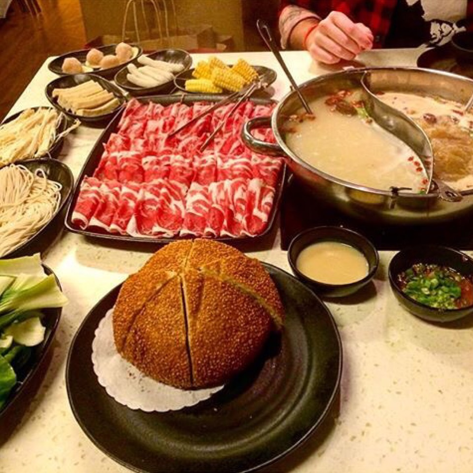 Hot Pot (Variety Of Items) at Little Sheep Mongolian Hot Pot 小肥羊 on #foodmento http://foodmento.com/place/5190