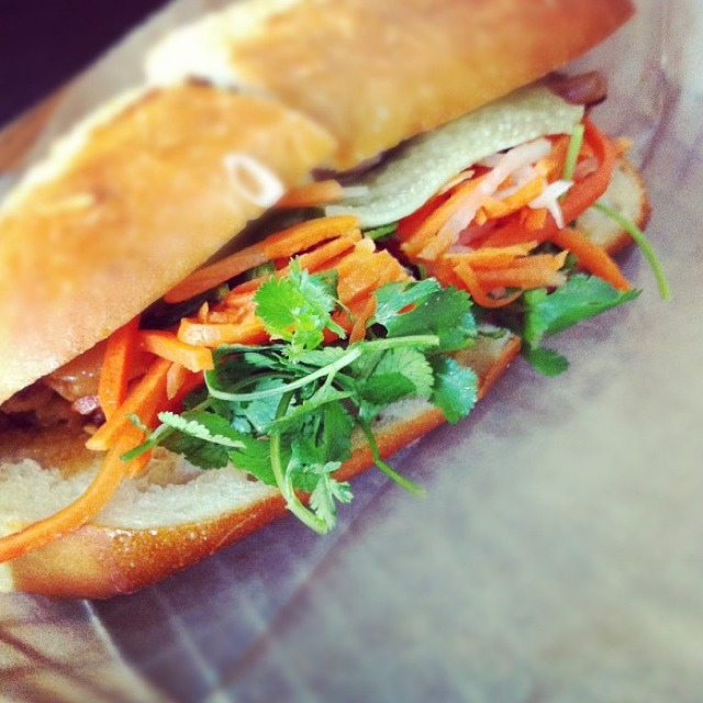 Belly Bun (Braised Kurobuta Pork Belly...) at Bun Mee Vietnamese Sandwich Eatery on #foodmento http://foodmento.com/place/528
