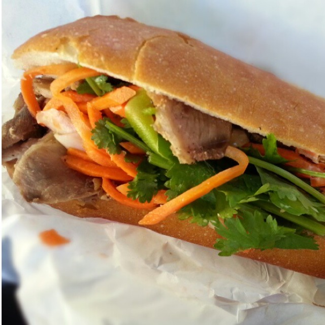 Roast Pork Bánh Mì at Saigon Sandwich on #foodmento http://foodmento.com/place/529