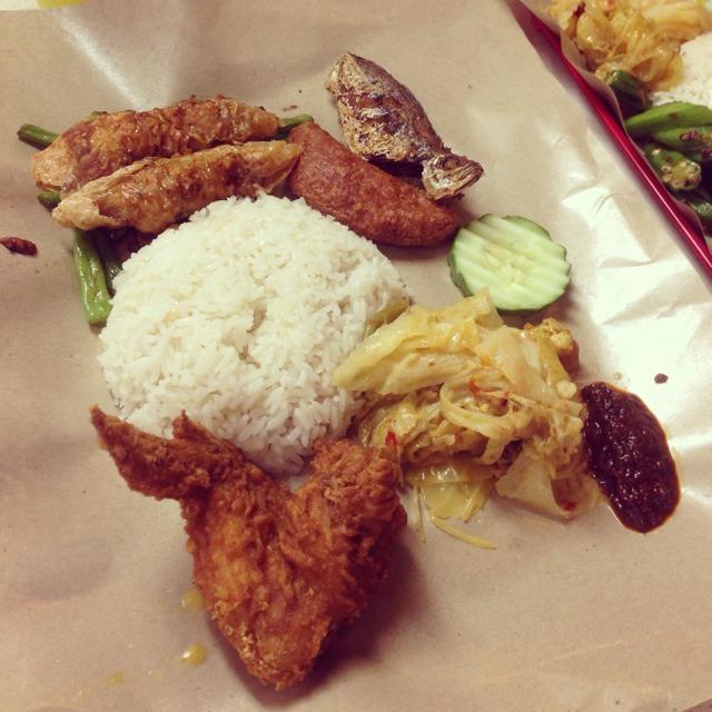 Nasi Lemak at Ponggol Nasi Lemak Centre on #foodmento http://foodmento.com/place/532