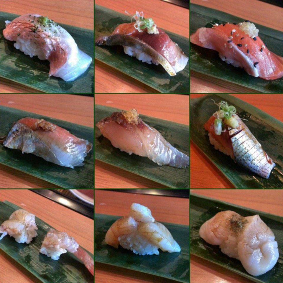 Omakase (Sushi Tasting) at ICHI Sushi + NI Bar on #foodmento http://foodmento.com/place/5507