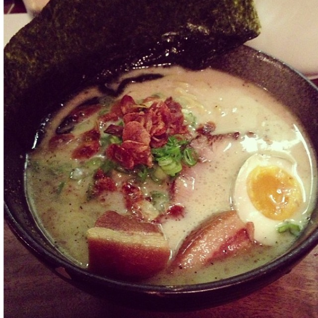 Ritsu Tonkotsu Ramen at Izakaya Sozai on #foodmento http://foodmento.com/place/563