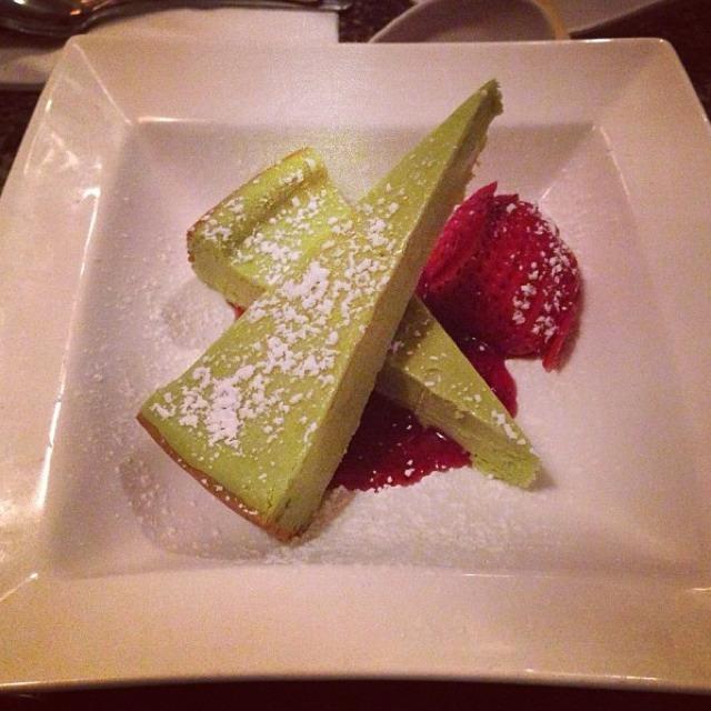 Green Tea Cheesecake at Izakaya Sozai on #foodmento http://foodmento.com/place/563