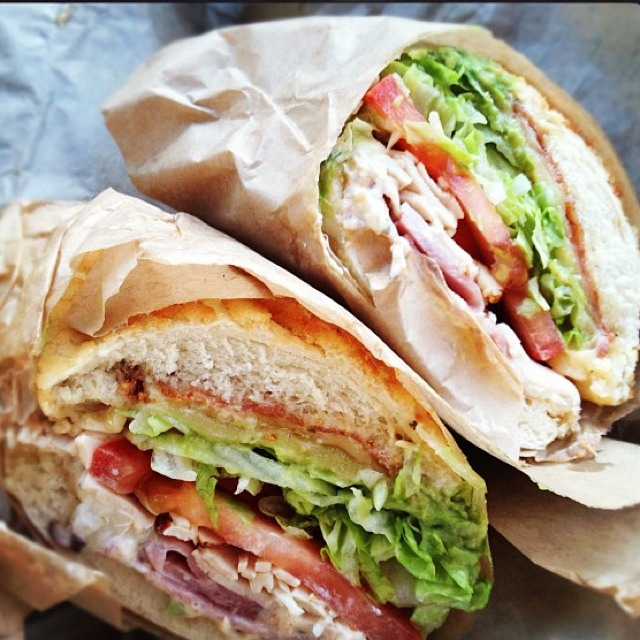 Lincecum Sandwich (Ham, Bacon, Turkey, Avocado, Havarti) at Ike's Place (CLOSED) on #foodmento http://foodmento.com/place/569