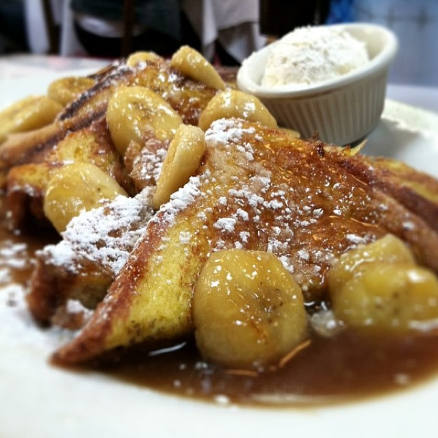 Banana Foster French Toast at Brenda's French Soul Food on #foodmento http://foodmento.com/place/585