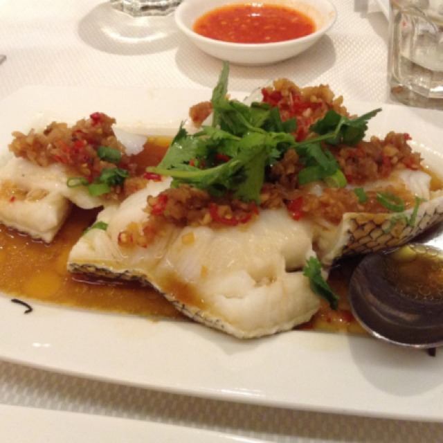 Wok Fried Cod Fish With Chefs Special Spicy Sauce at Jumbo Seafood Restaurant on #foodmento http://foodmento.com/place/586