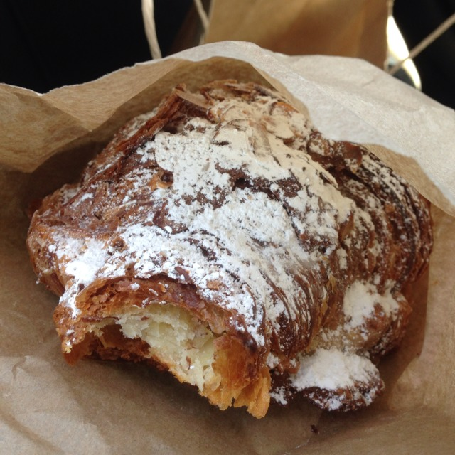 Frangipane Croissant (Almond Cream Filling) at Tartine Bakery on #foodmento http://foodmento.com/place/599
