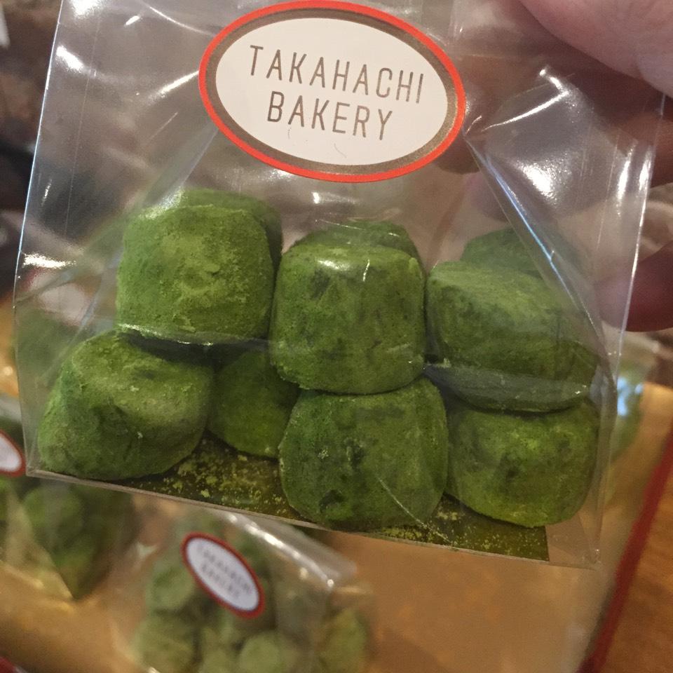 Matcha Stones (Mochi) at Takahachi Bakery on #foodmento http://foodmento.com/place/6022