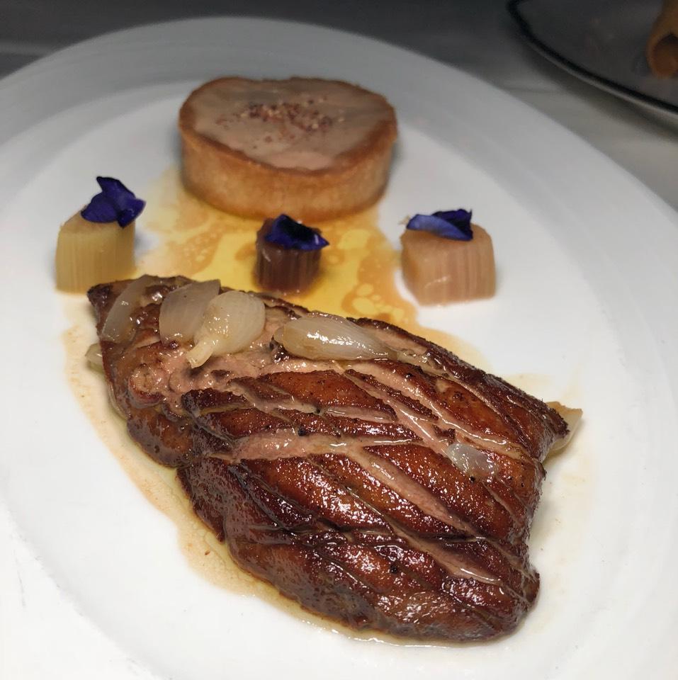Hudson Valley Foie Gras from Delmonico's Restaurant Steak House Grill on #foodmento http://foodmento.com/dish/42689