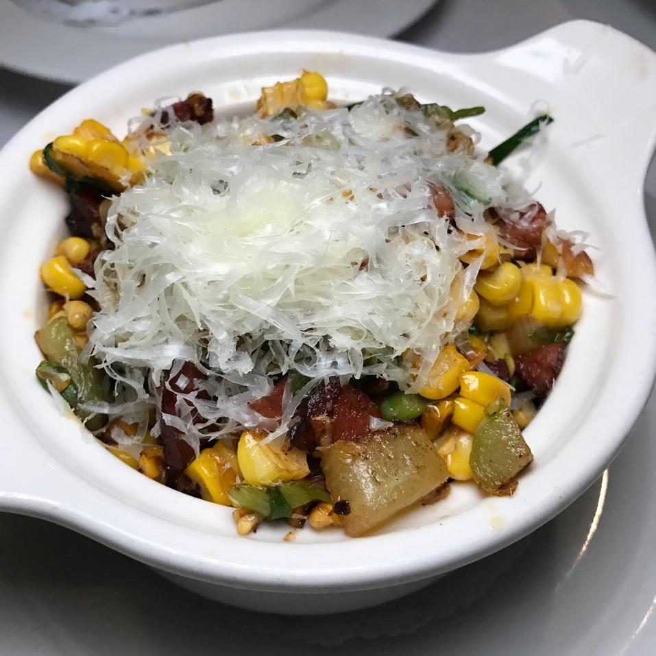 Corn at Delmonico's Restaurant Steak House Grill on #foodmento http://foodmento.com/place/6027