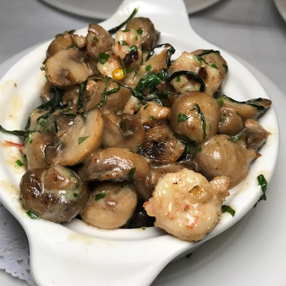 Mushrooms from Delmonico's Restaurant Steak House Grill on #foodmento http://foodmento.com/dish/42728