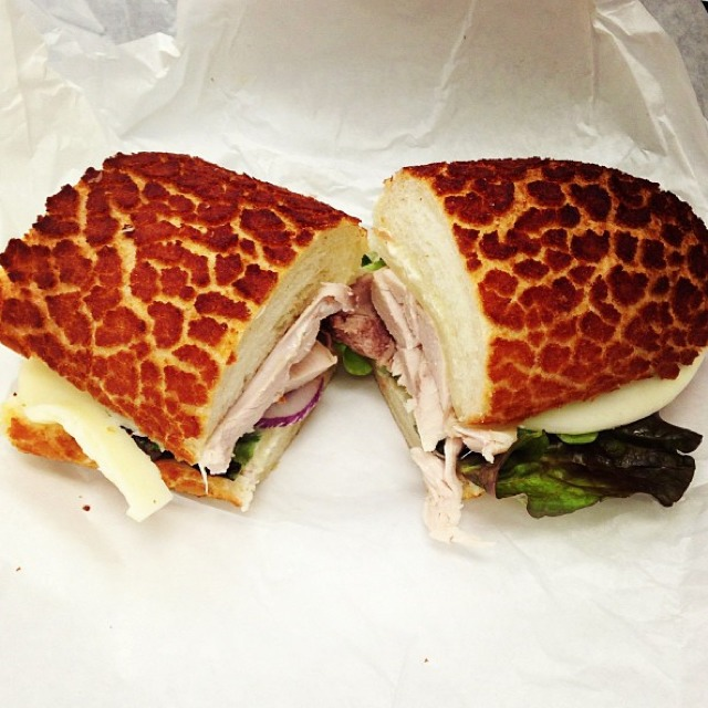 Turkey Sandwich at Arguello Market on #foodmento http://foodmento.com/place/604