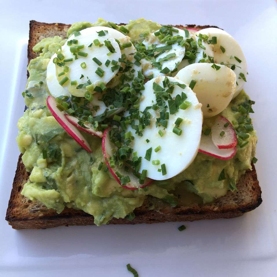 Classic Avocado Toast, Radish, Egg, Vinaigrette at Chalait on #foodmento http://foodmento.com/place/6138