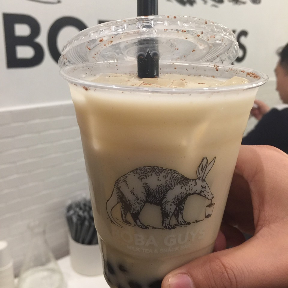 Horchata Milk Boba (Bubble Tea) at Boba Guys on #foodmento http://foodmento.com/place/6377