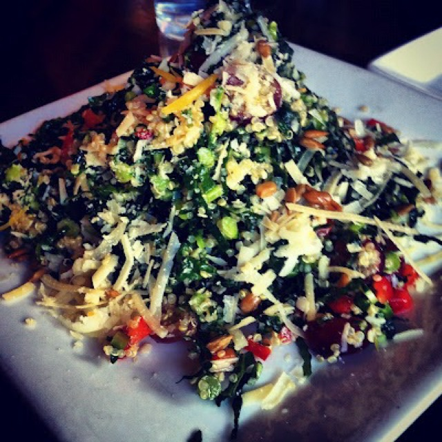 Bk's Chopped Kale Salad at The Misfit Restaurant + Bar on #foodmento http://foodmento.com/place/684