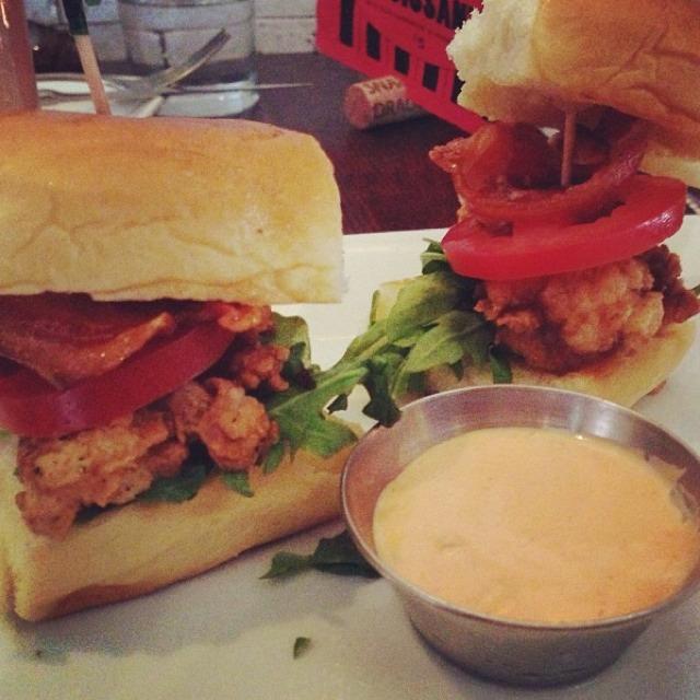 Crispy Lobster Club Sliders at The Misfit Restaurant + Bar on #foodmento http://foodmento.com/place/684