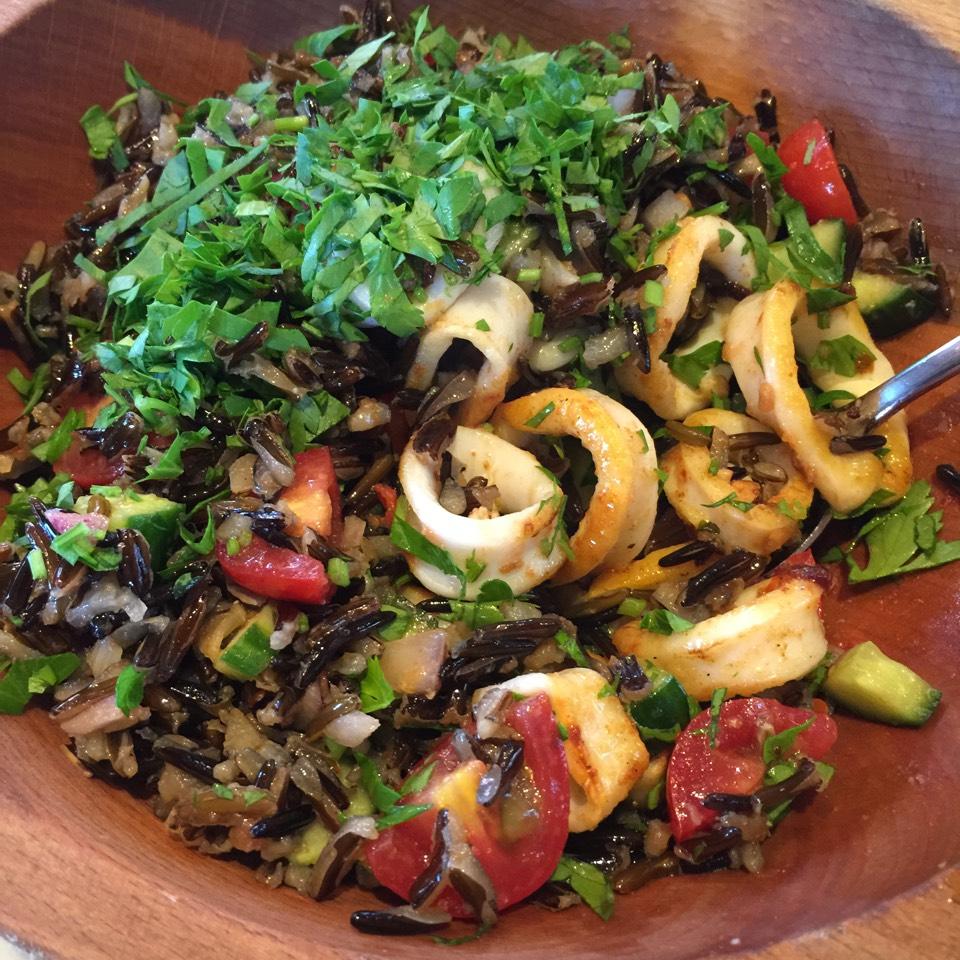 Wild Rice Calamari at Santina on #foodmento http://foodmento.com/place/6898
